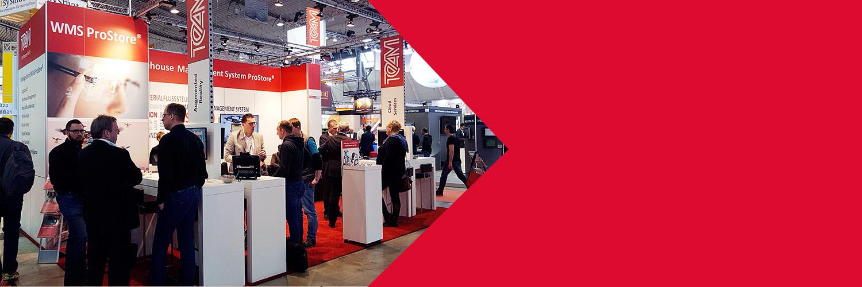 TEAM GmbH auf der LogiMAT 2019 rund um Logistik 4.0, WMS, Warehouse Management System ProStore