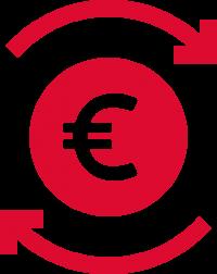 EURO-Icon für ProStore-Modul Dienstleistungsabrechnung (Lagergeld)